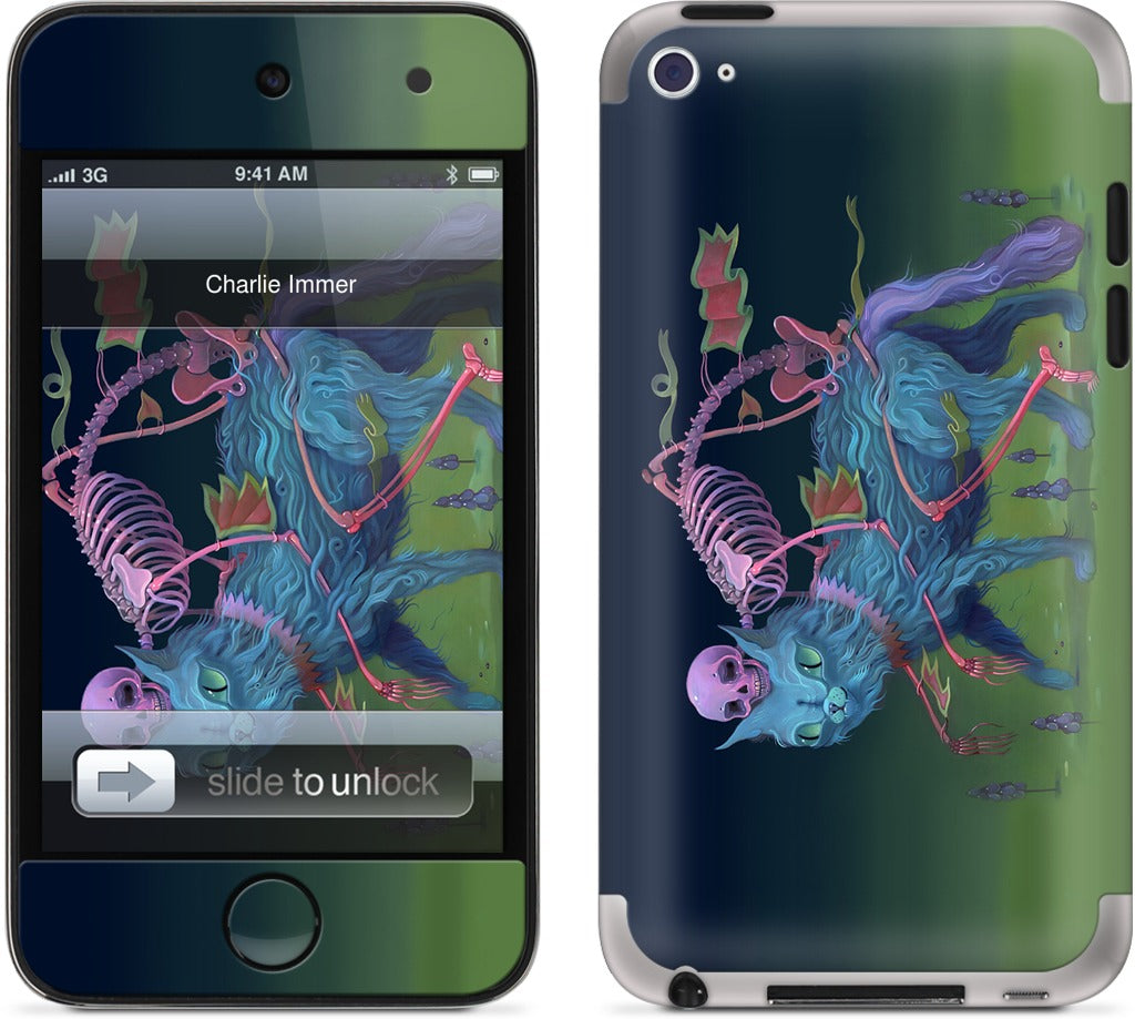 Bone Guide iPod Skin