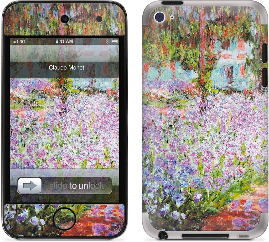 Artist's Garden at Giverny iPod Skin