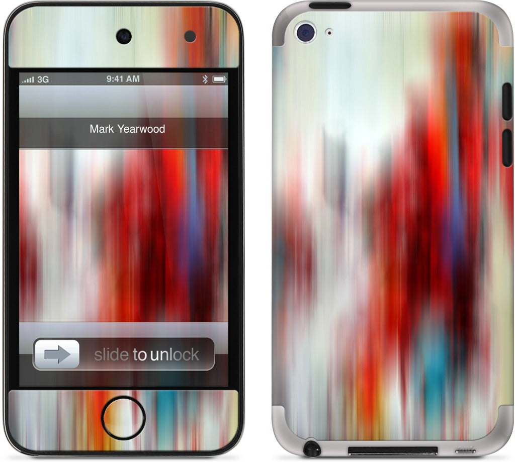 Color In Motion 3 iPod Skin