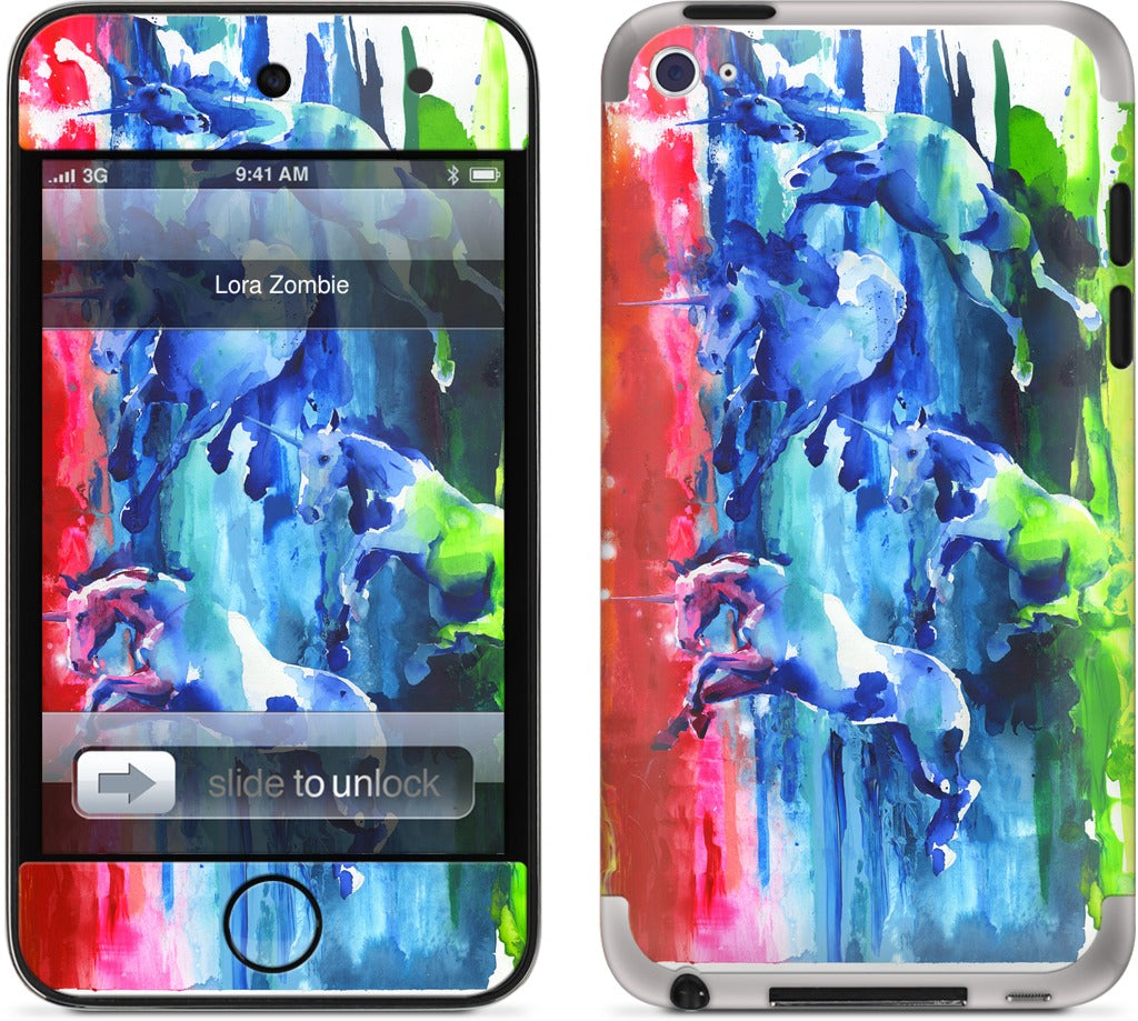 Northern Lights iPod Skin