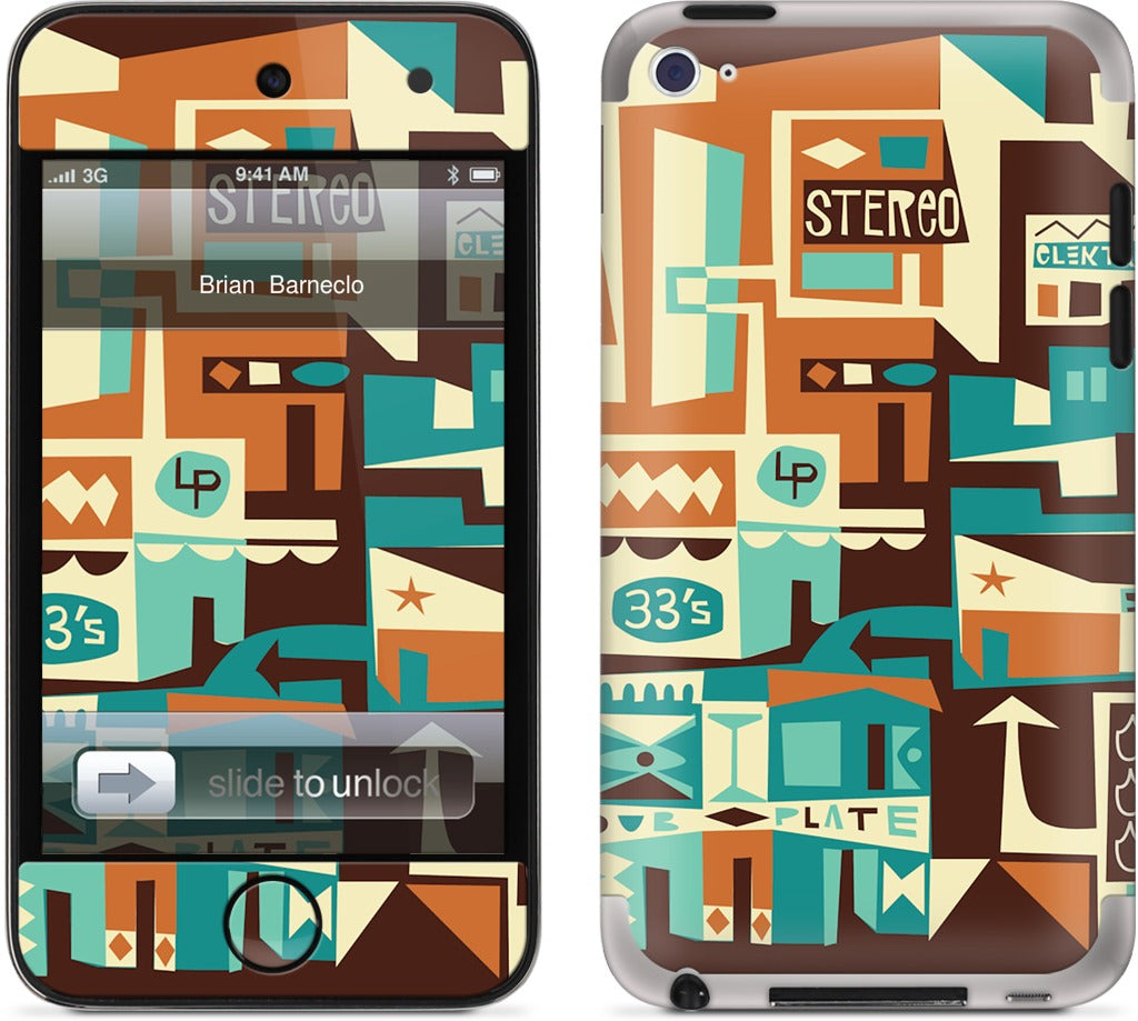 Stereo City iPod Skin