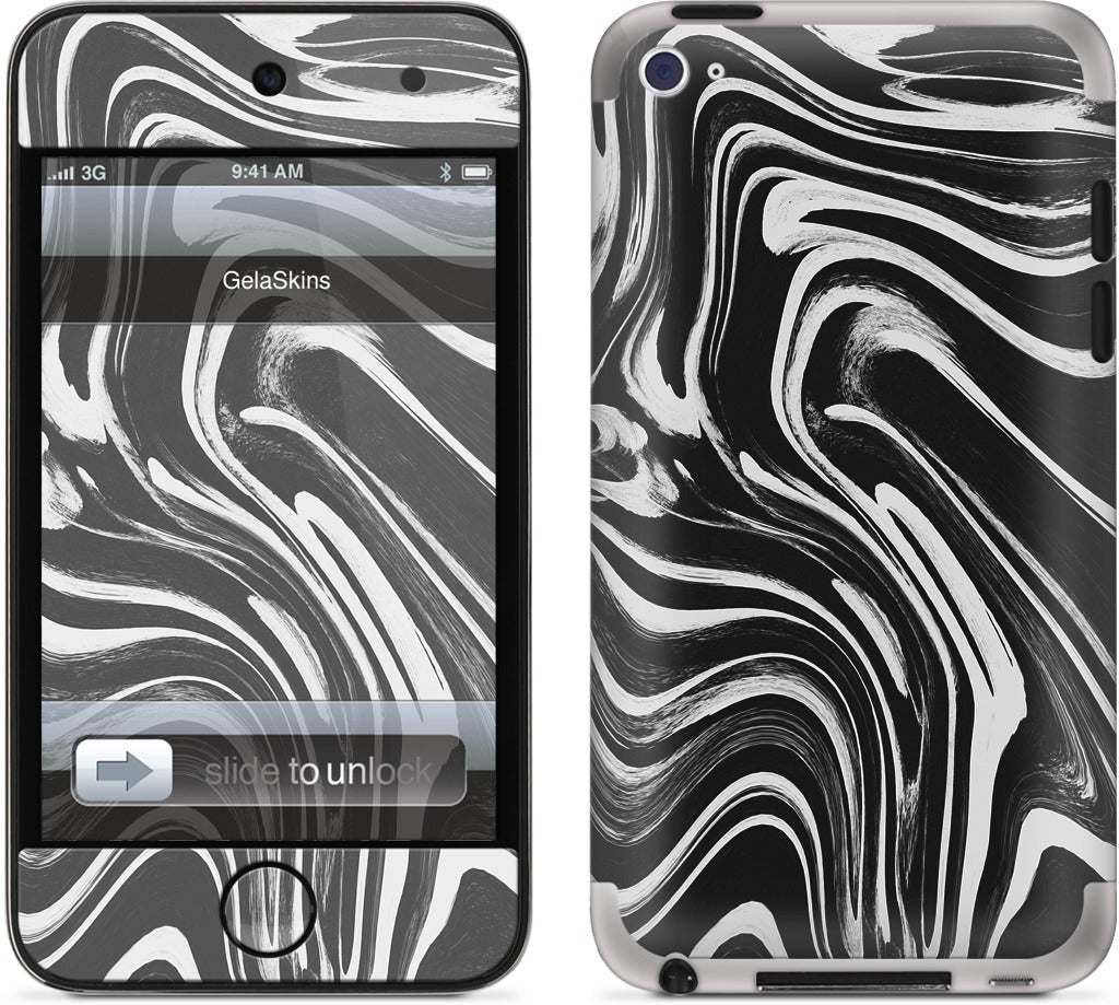 Sketched Marble iPod Skin
