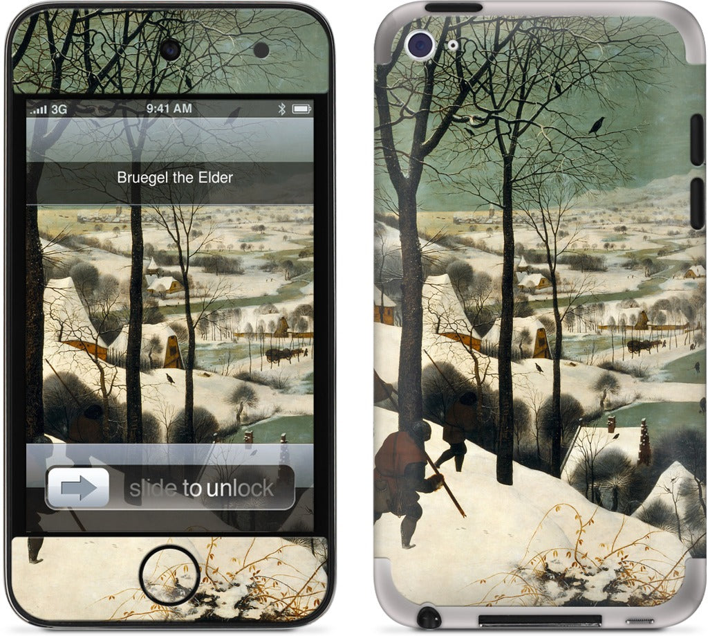 Hunters in the Snow iPod Skin