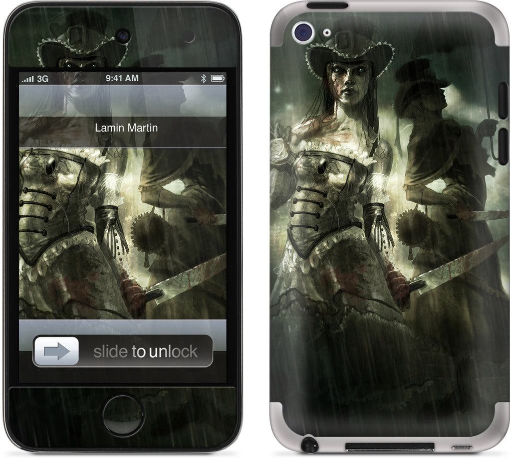Blood and Lavender iPod Skin