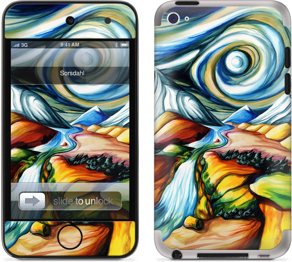 Surrenters Forshadow Of Ominous Events iPod Skin