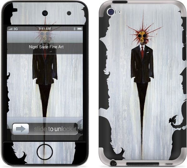 Just until I can afford to be Happy iPod Skin