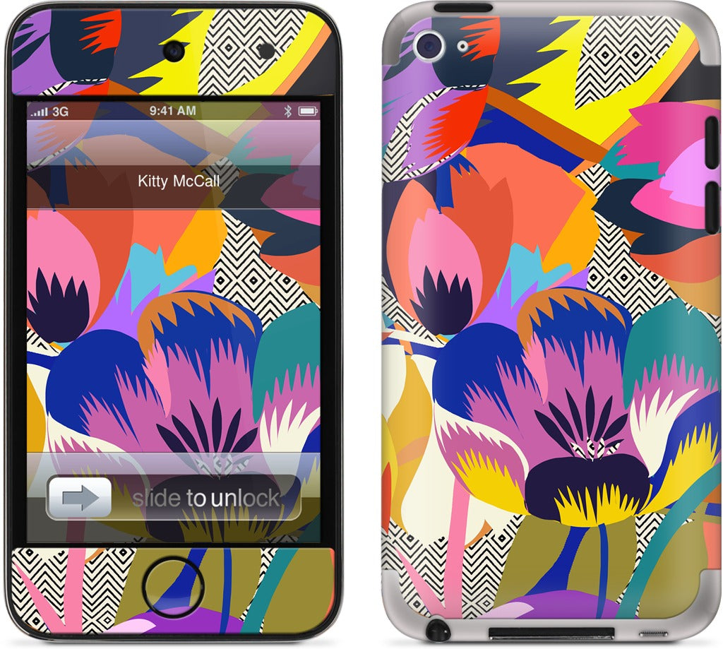 Among the Spring Flowers iPod Skin