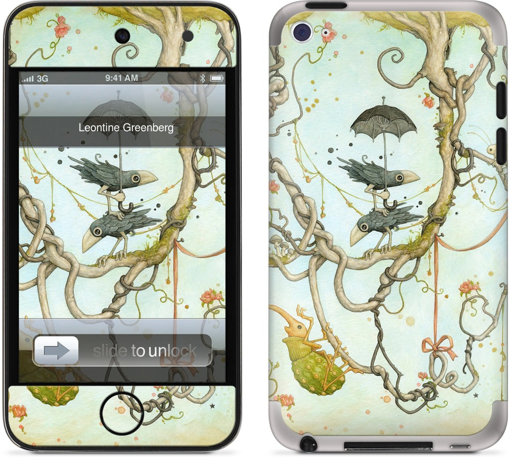 In The Woods iPod Skin