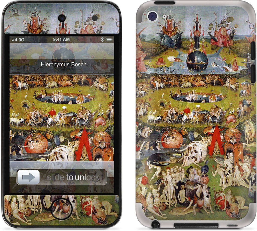 Garden of Earthly Delights iPod Skin