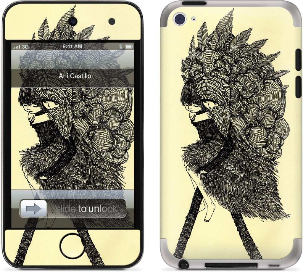 Move To The Woods iPod Skin