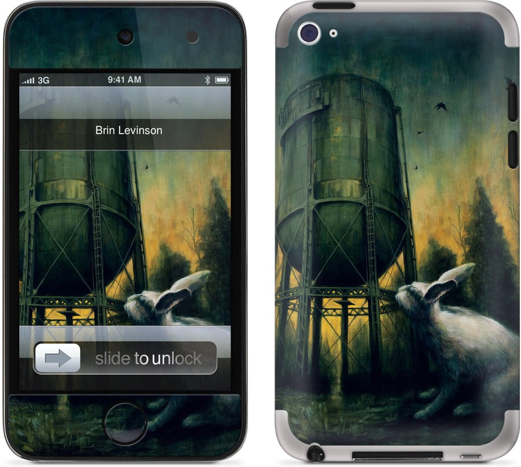 """Water Tank Dawn"" -Levinson iPod Skin"