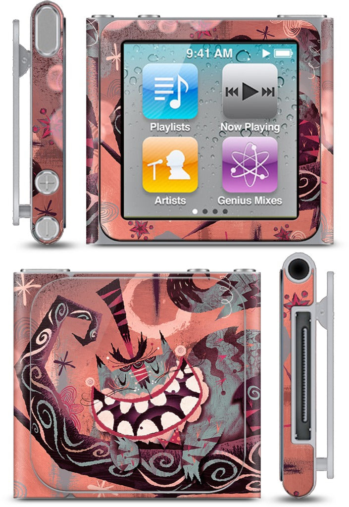 Cheshire Cat iPod Skin