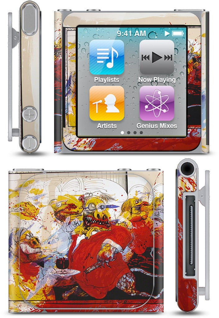 Lizard Lounge iPod Skin