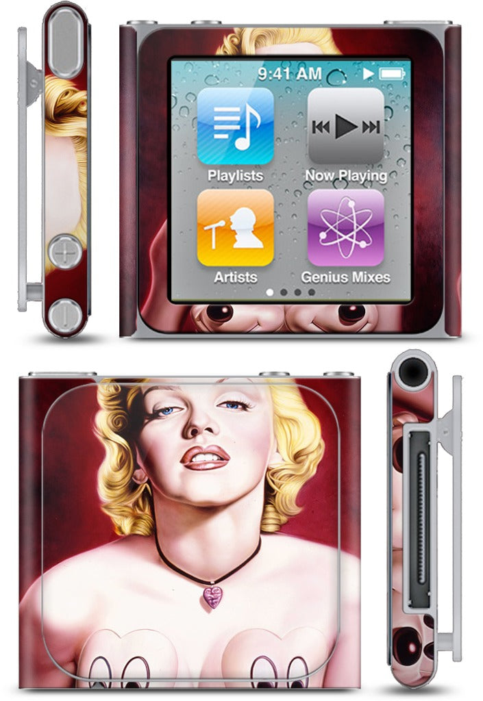 Red Marilyn iPod Skin