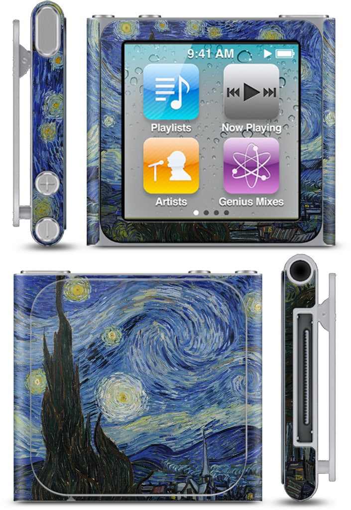 Starry Night iPod Skin
