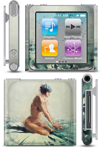 Blue and Green and Pink iPod Skin