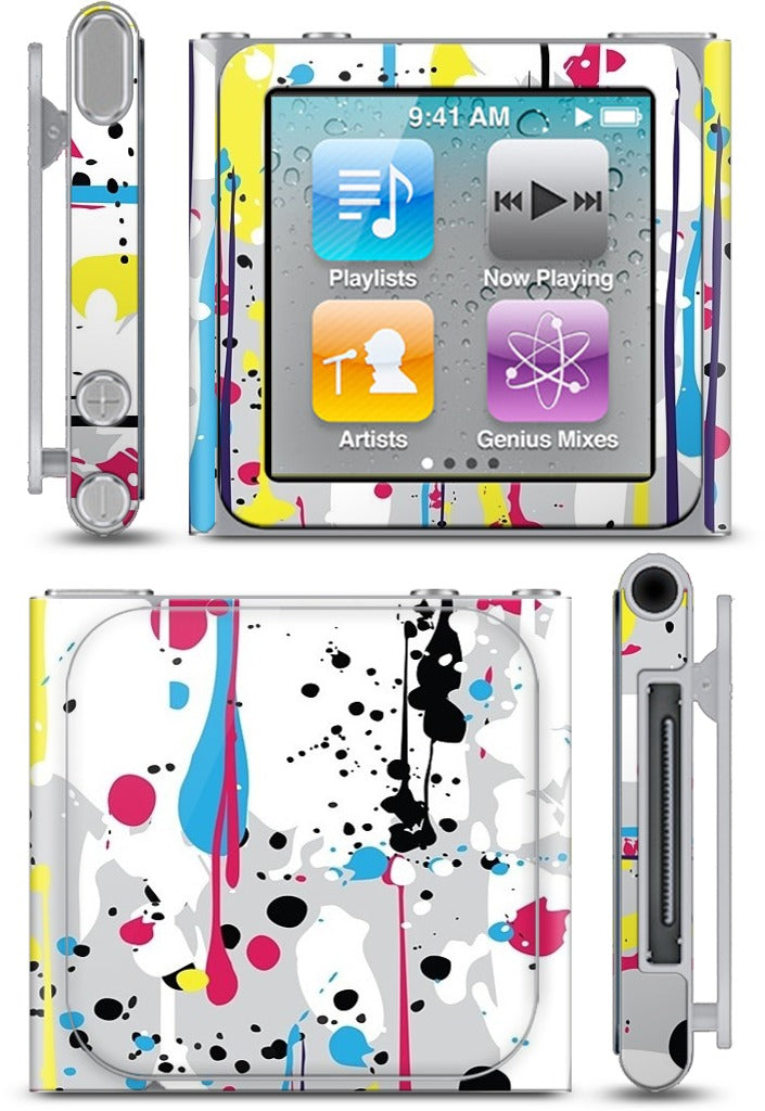Urban Pop Splatt iPod Skin