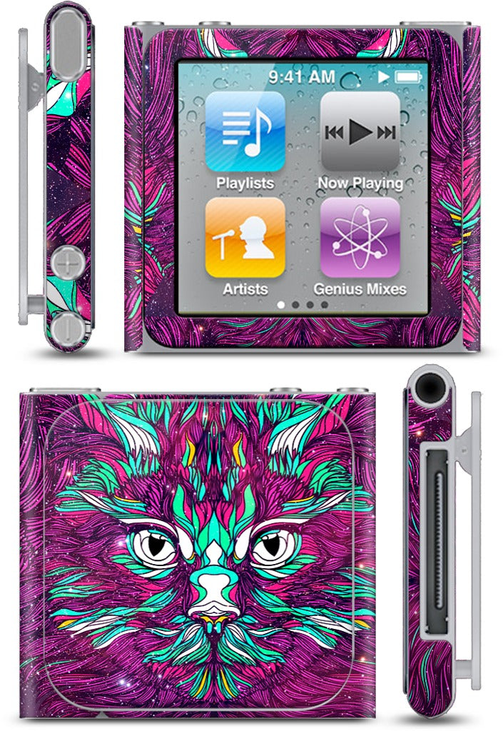 Space Cat iPod Skin