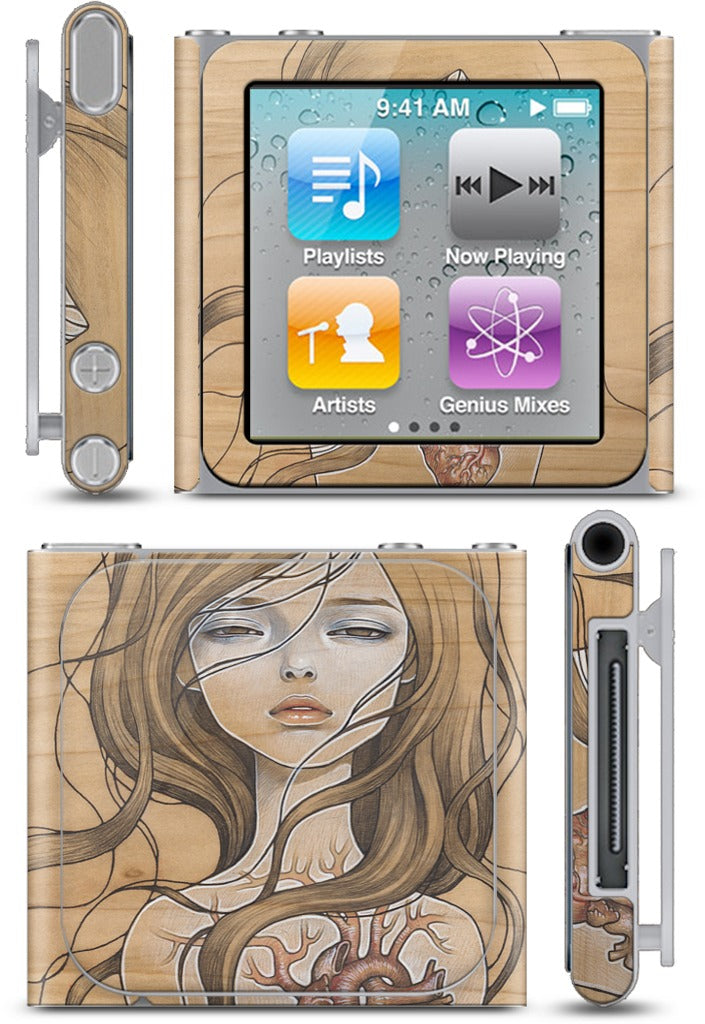 'Dishonest Heart' iPod Skin