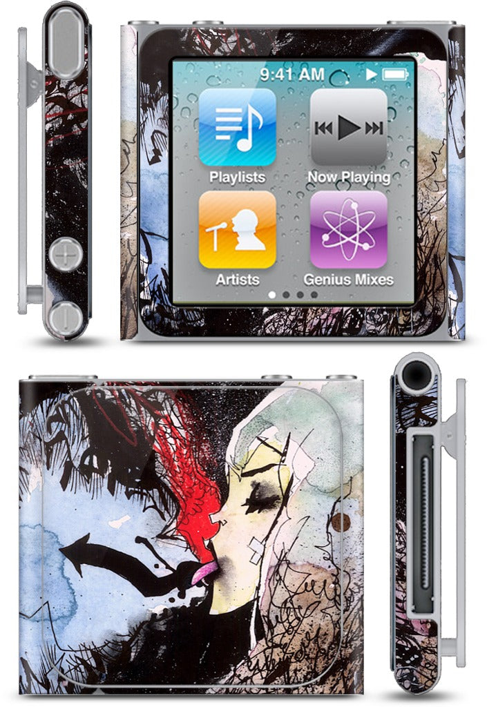 Arrow Tongue iPod Skin
