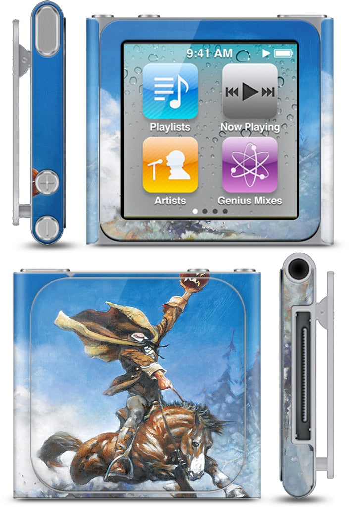 Headless Horseman iPod Skin