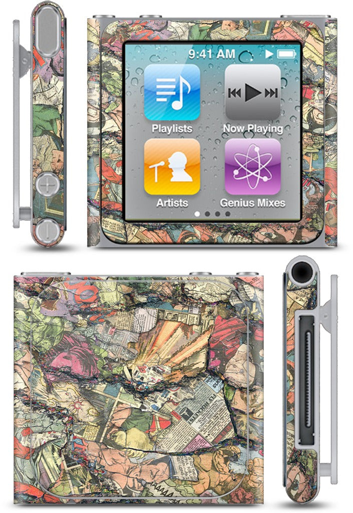 Blasts From The Past iPod Skin