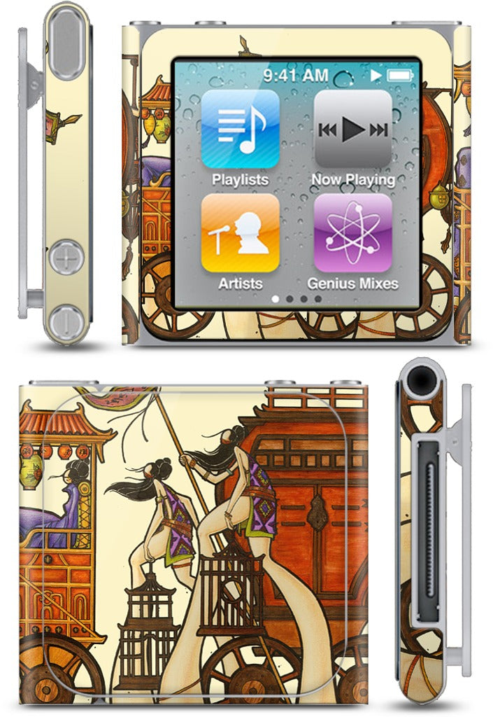 Going To California iPod Skin