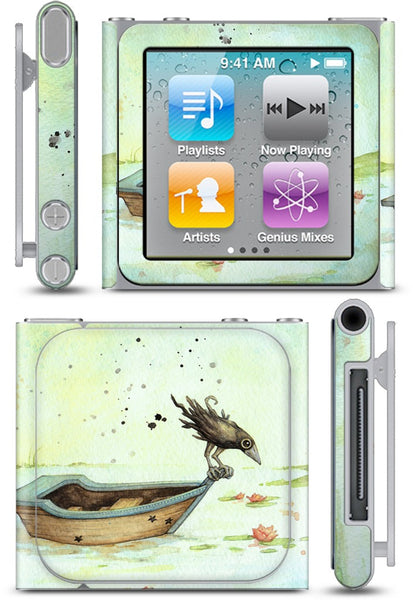 On A Boat iPod Skin