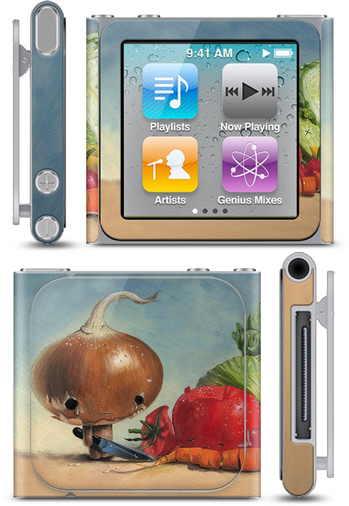 Slice and Dice iPod Skin