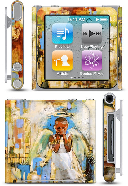 Shy Angel iPod Skin