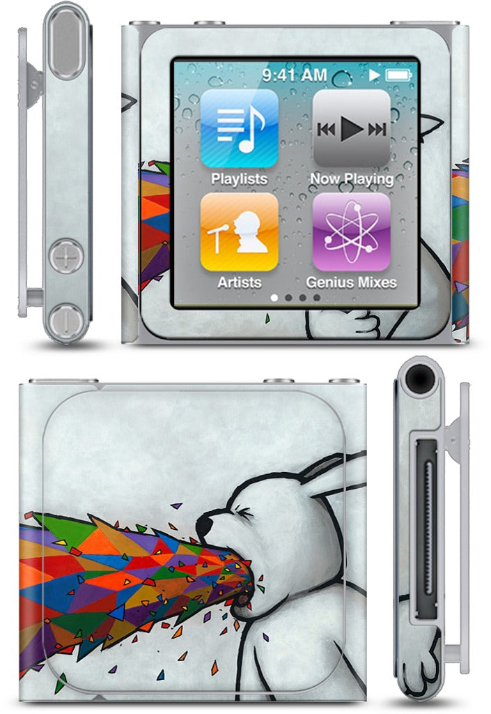 Some Trends Want To Make Me Puke iPod Skin