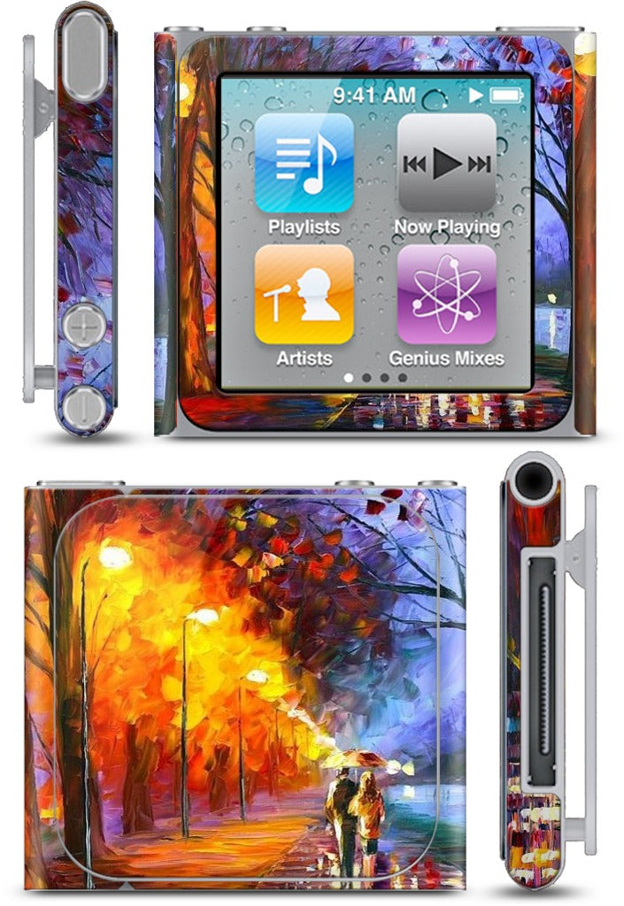 ALLEY BY THE LAKE by Leonid Afremov iPod Skin