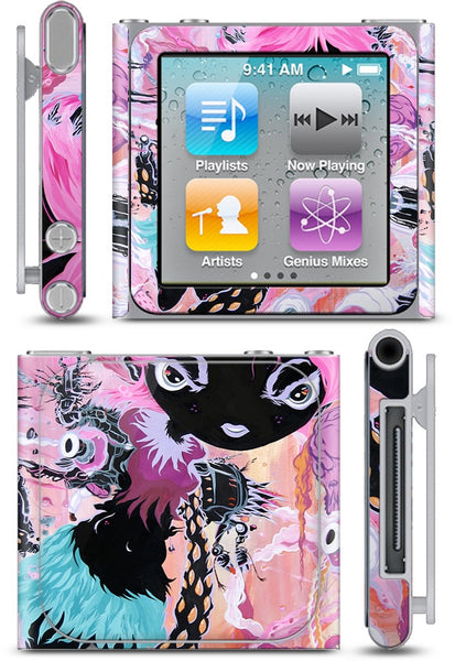 Girl Parts iPod Skin