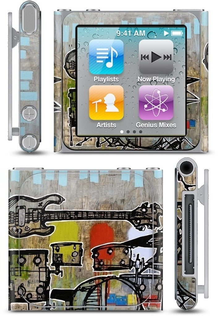 Drum and Bass iPod Skin