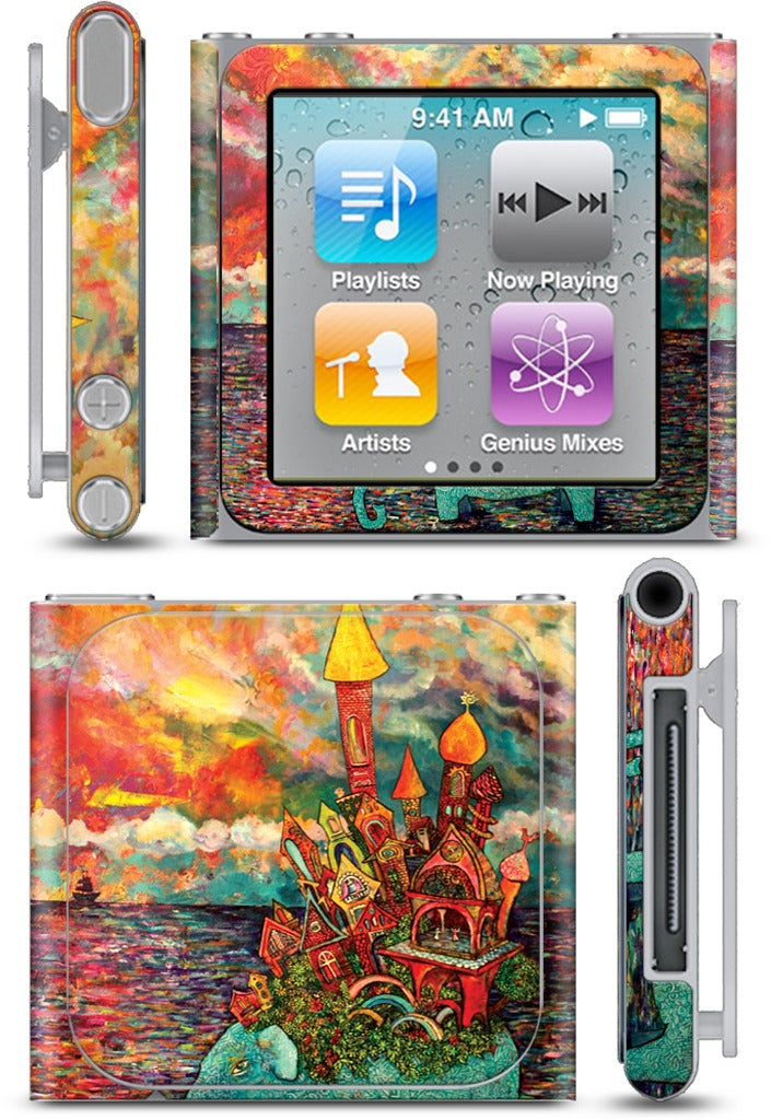 """Warm Waters"" iPod Skin"
