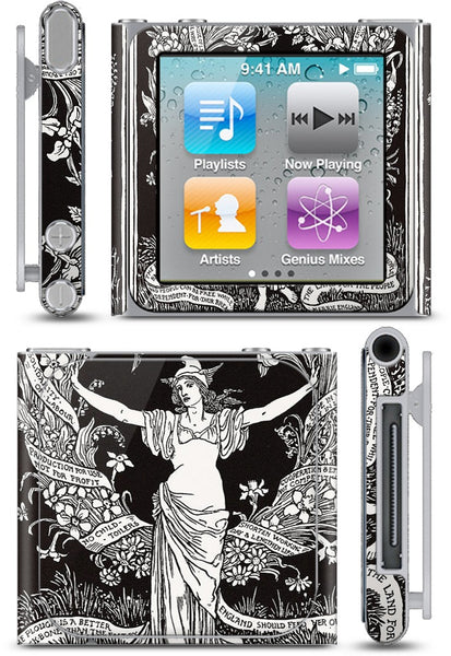A Garland for May Day iPod Skin