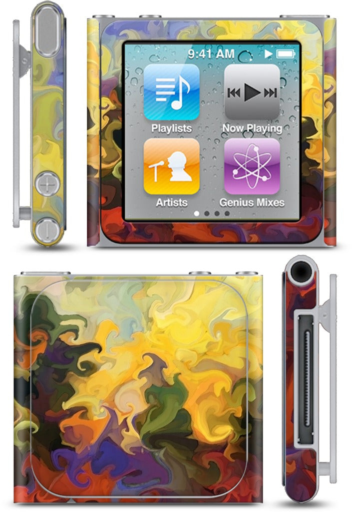 Forest Fire iPod Skin