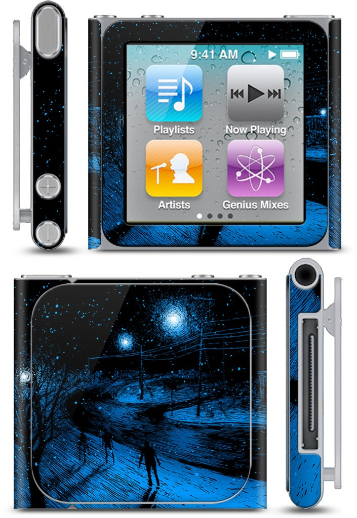 """i am a rabbit out of room"" iPod Skin"