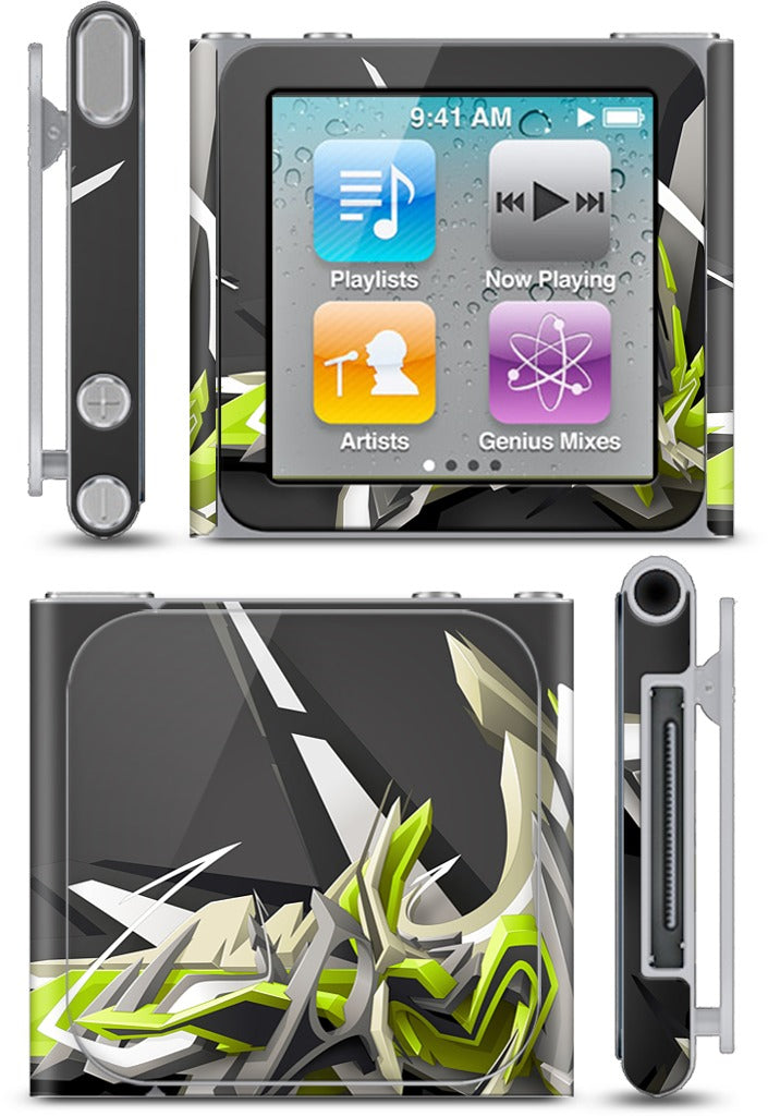 Swinging DAIM iPod Skin