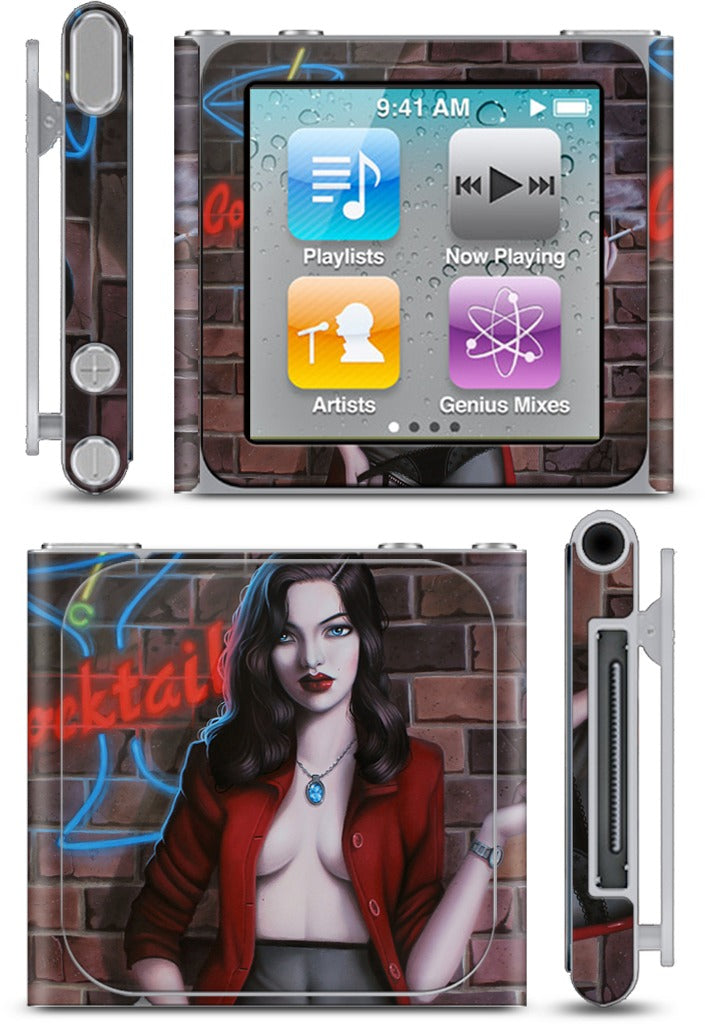 Cocktail Hour iPod Skin