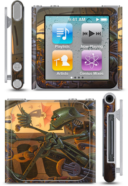 Headin' Home To Hades iPod Skin