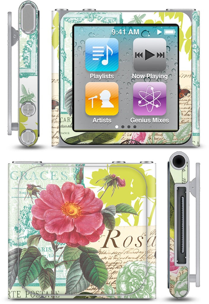 Flora and Fauna iPod Skin