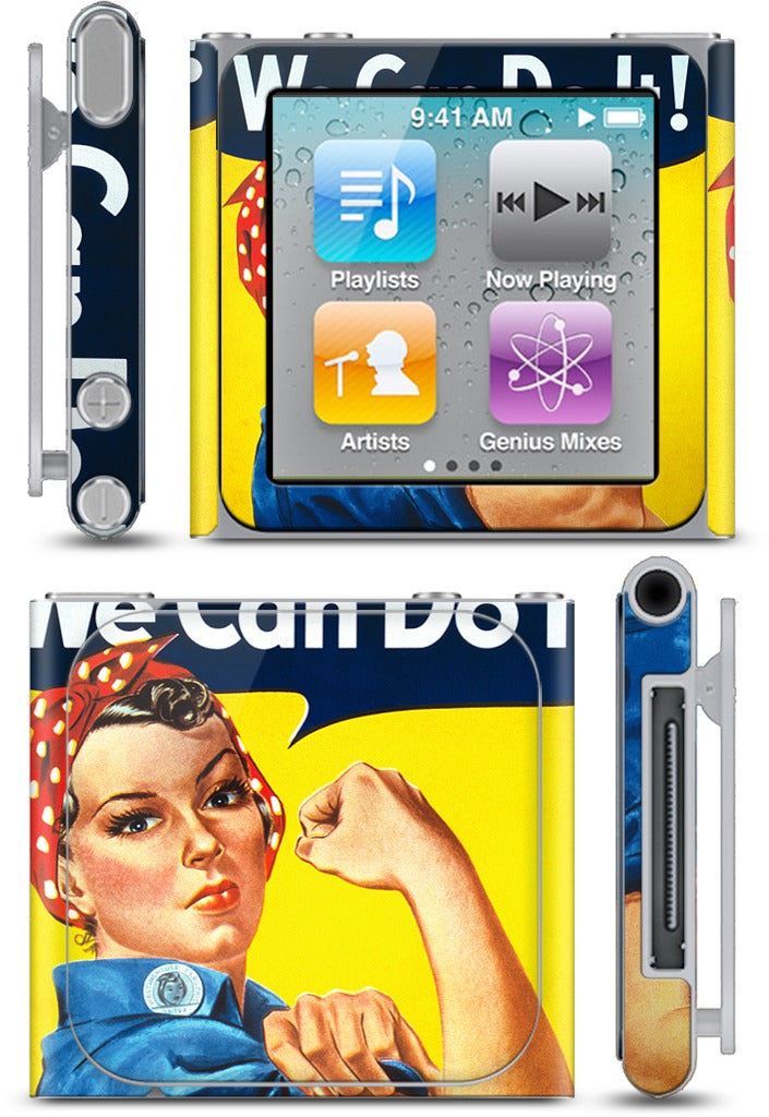 We Can Do It iPod Skin