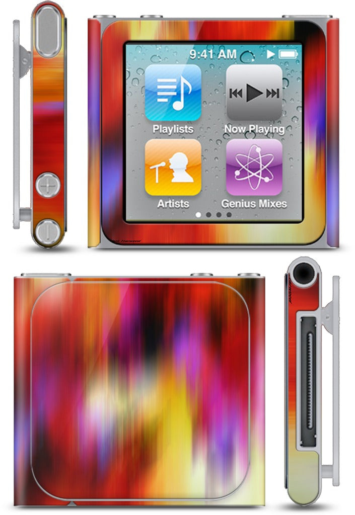 Color In Motion 1 iPod Skin