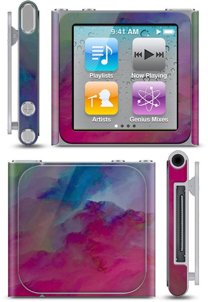 hidden hearts iPod Skin