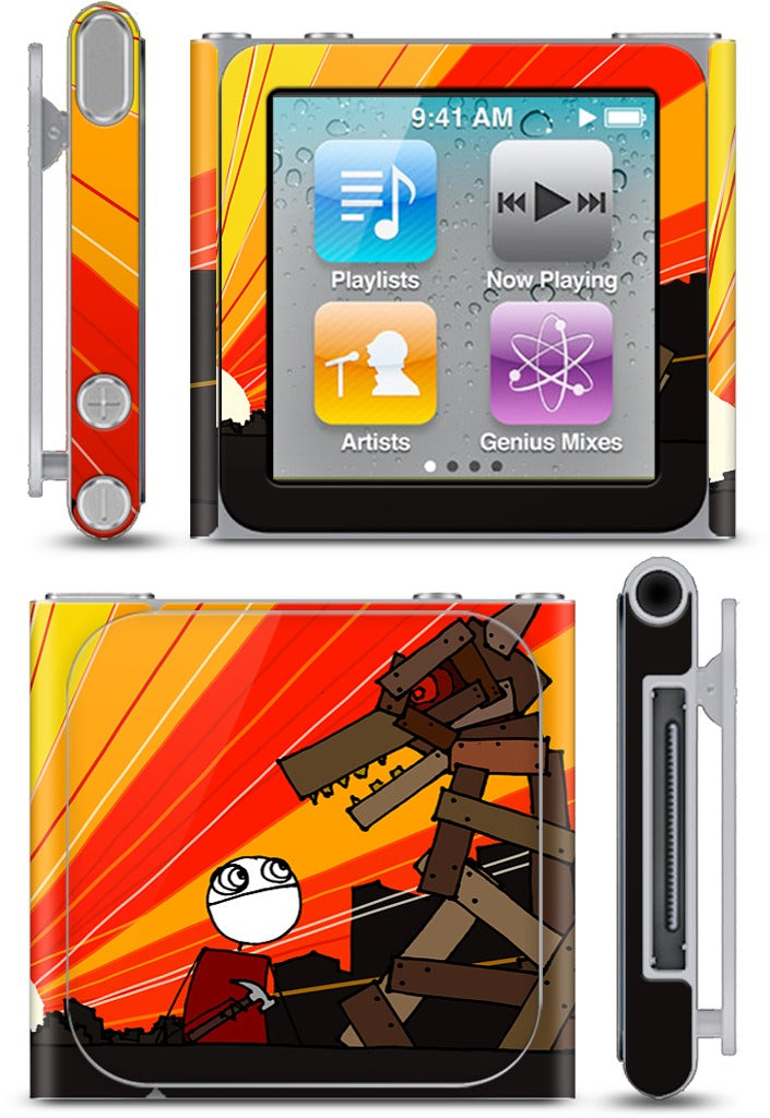 I Stayed Up All Night Making It iPod Skin