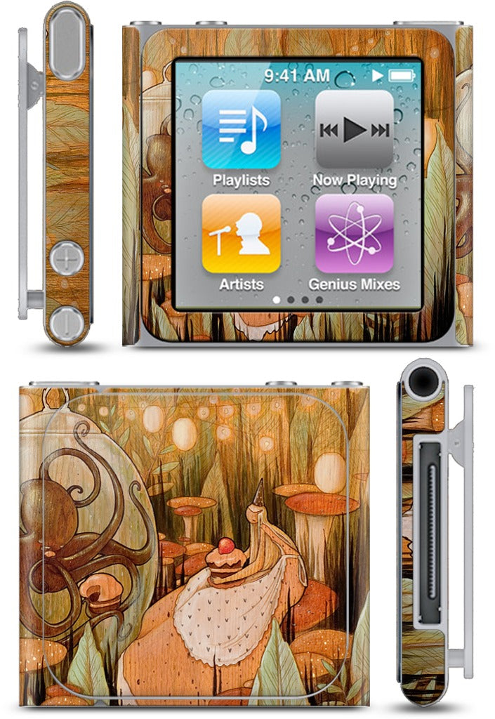 Let's Eat Cake iPod Skin