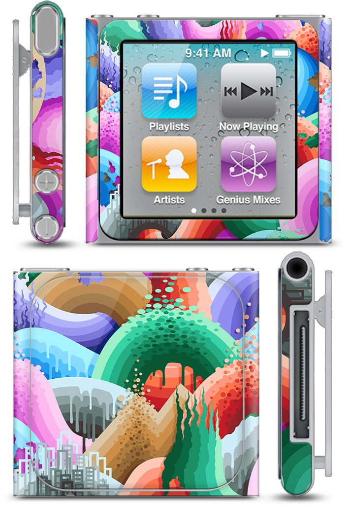 Acid Rain Dance iPod Skin