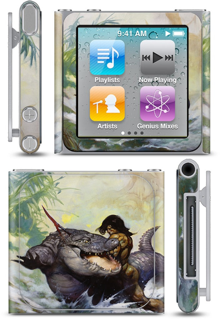Monster Out Of Time iPod Skin