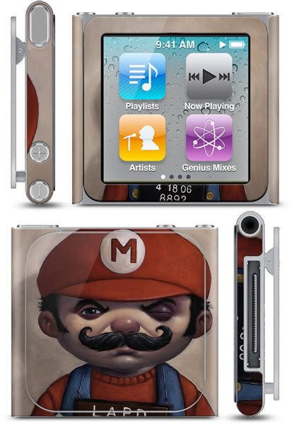 Rougher Night Out iPod Skin